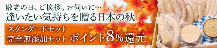 敬老の日ポイント還元8%